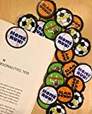 Sports Bookmarks - 36 Bulk Bookmarks for Kids girl's boys- School Student Incentives – Library incentives – Reading Incentives - Party Favor Prizes - Classroom Reading Awards!