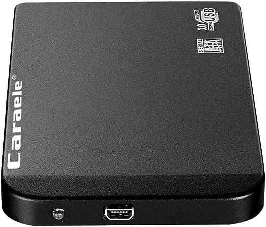 D DOLITY USB3.0 HDD 外付け ポータブル 2.5インチ SATA モバイルハードディスク 保護カバー - 1T