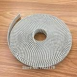Width: Width 6mm, Length: Perimeter 440mm Ochoos 1pcs GT2 Timing Belt Perimeter 420 440 Width 6mm 10mm Teeth 210T 220T Loop 2GT synchronous Belt