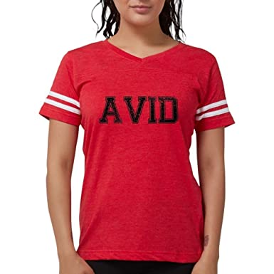 025e3185 Amazon.com: CafePress - AVID, Vintage T-Shirt - Womens Football ...