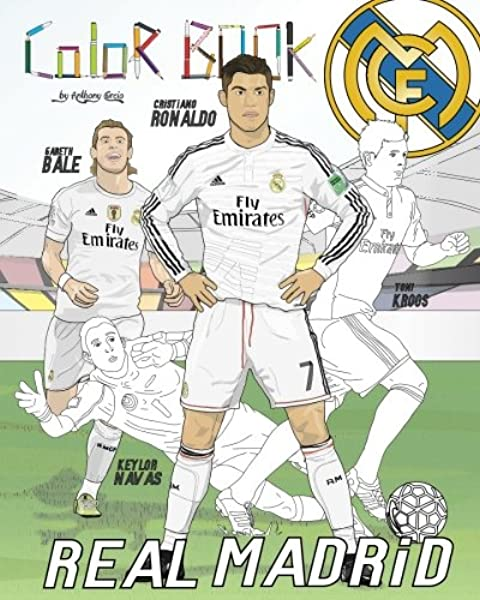 Real Madrid Soccer Coloring Pages Coloring Pages | Deko | 600x480