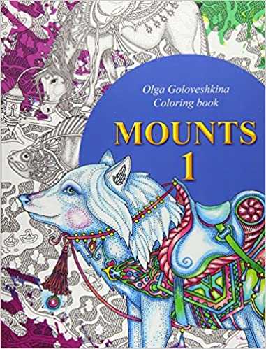 Coloriage Bebe Tapir.Amazon Fr Mounts Coloring Book Olga Goloveshkina Livres