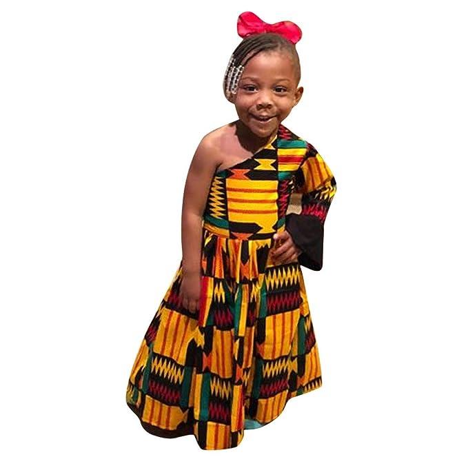 Amazon.com: Sameno - Vestido de fiesta para bebé o niña de 1 ...