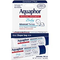 Aquaphor Baby Healing Ointment Advanced Therapy 2 tubes 0.35 oz(Packs of 3)