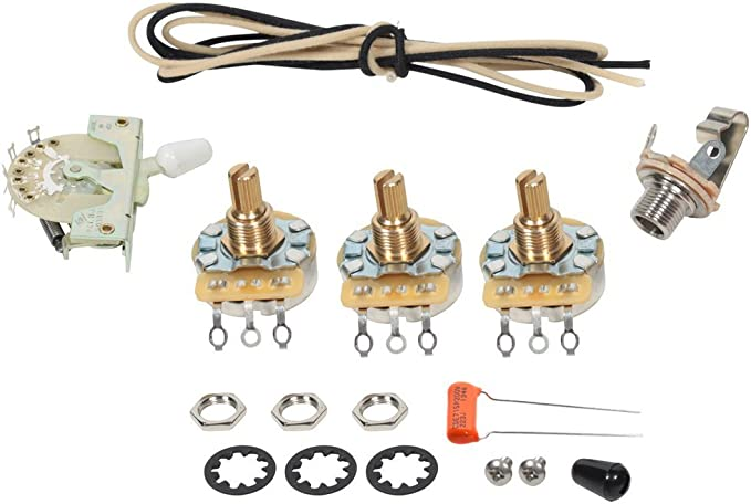 920D Custom S5W Upgraded Replacement 5 Way Wiring for Strat Style Guitars