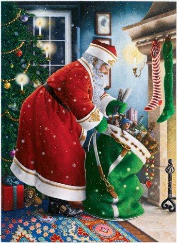 1000pc Springbok Jigsaw Puzzle Ravensburger Santas Delivery