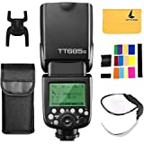 GODOX TT685C Thinklite TTL Camera Flash 2.4GHz High Speed 1/8000s GN60 Compatible for Canon EOS Cameras E-TTL II…
