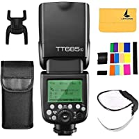 Godox TT685C TTL Camera Flash Speedlite 2.4G HSS 1/8000s GN60 fit for Canon EOS 5D Mark III 5D Mark II 6D 7D 60D 50D 40D…