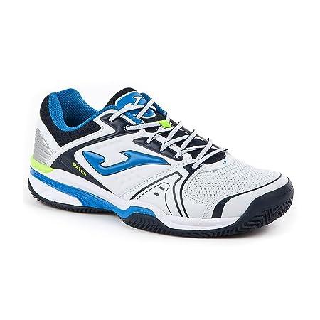 Joma Zapatillas T.Match 702 Blanco Clay: Amazon.es: Deportes y ...