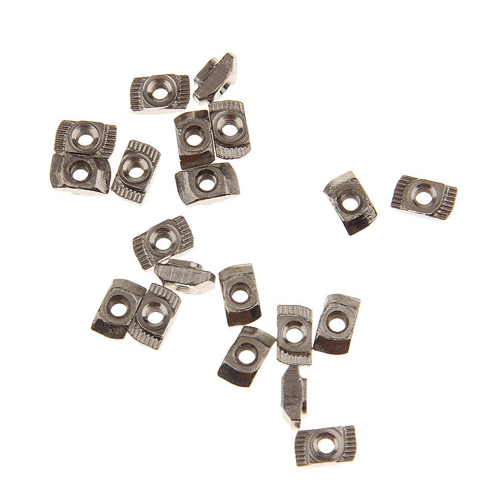 écrou T Fente T Bloc écrou Coulissant Pour 20 Séries Profilé En Aluminium Modèle Fente - 20 Séries, M3 Generic STK0151006737