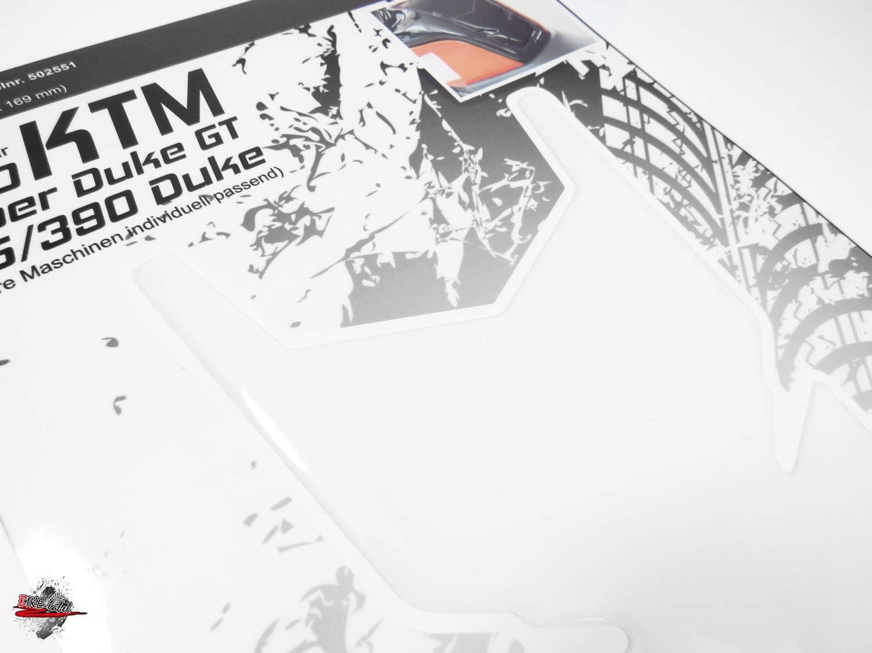 Bike Label 502551A-Tankpad Lackschutz Aufkleber passend f/ür KTM Duke Transparent