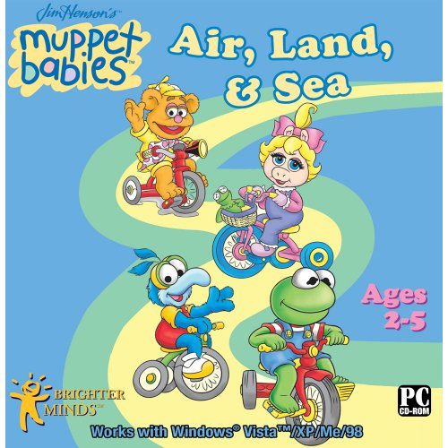Muppet Babies Air, Land and Sea Software