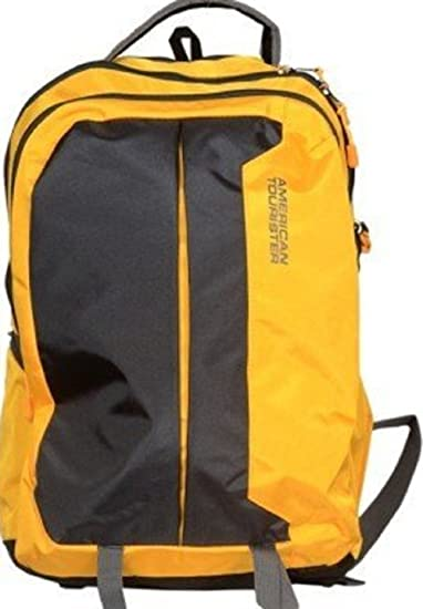 American Tourister Polyester 29 Ltrs Yellow Laptop Bag (AMT Buzz 2016 Backpack 06-YELW)