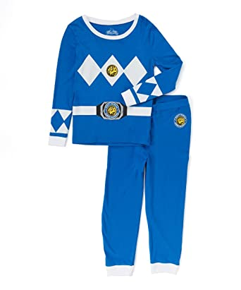 45ddb4a1e4 Amazon.com  Intimo Boys  Blue Ranger Pajama Set  Clothing
