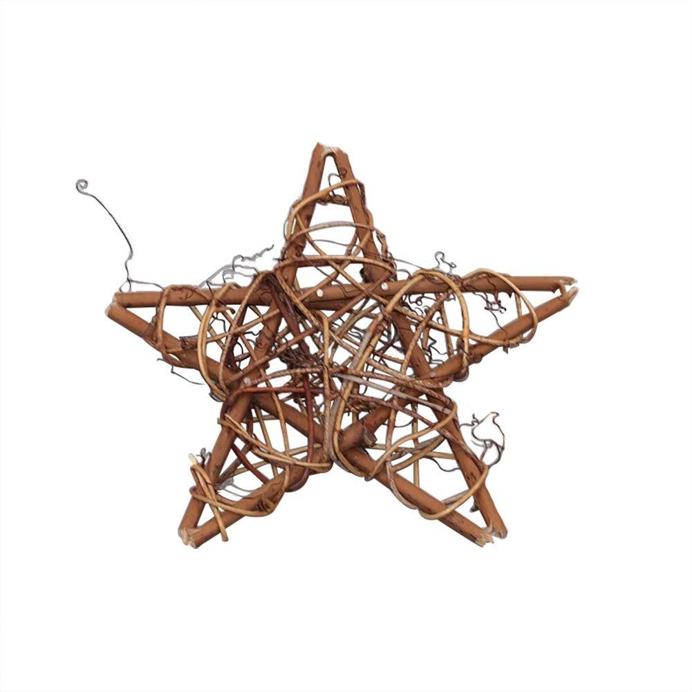 Blanco-10cm Gysad Serie de vid seca Guirnaldas decoracion navidad Dise/ño retro Navidad decoracion arbol DIY Guirnaldas decorativas Interesante Madera para manualidades size 10CM
