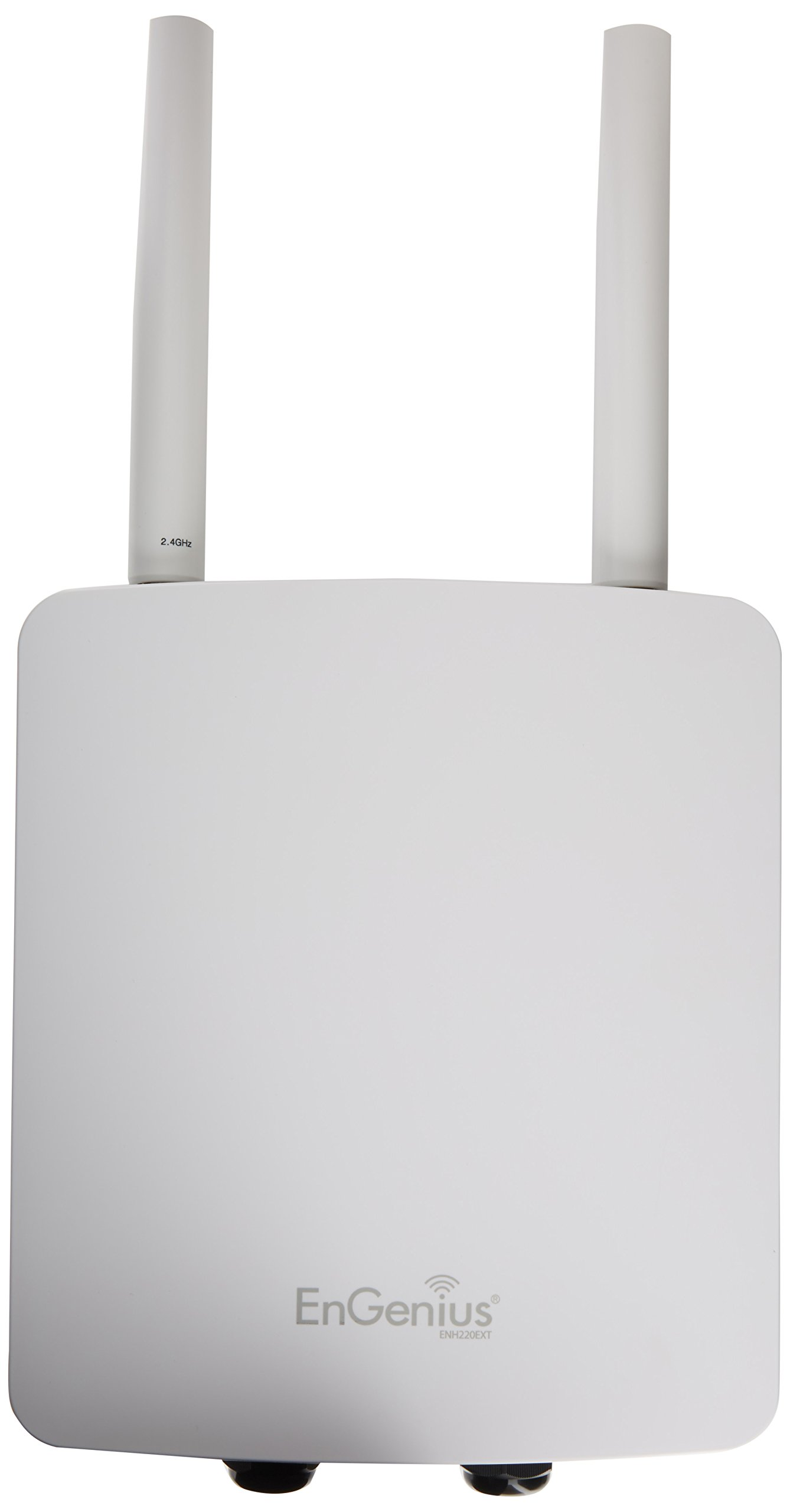 EnGenius Technologies Single Band Wireless Ruggedized N300 Outdoor Access Point ENH220EXT