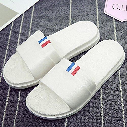 esterno DogHaccd Bianco1 pantofole di estate Il di un fresca indossare un vasca con estate femmina soggiorno di da paio femmina ciabatte bagno bagno antiscivolo casa pantofole maschio xaFrqAaw