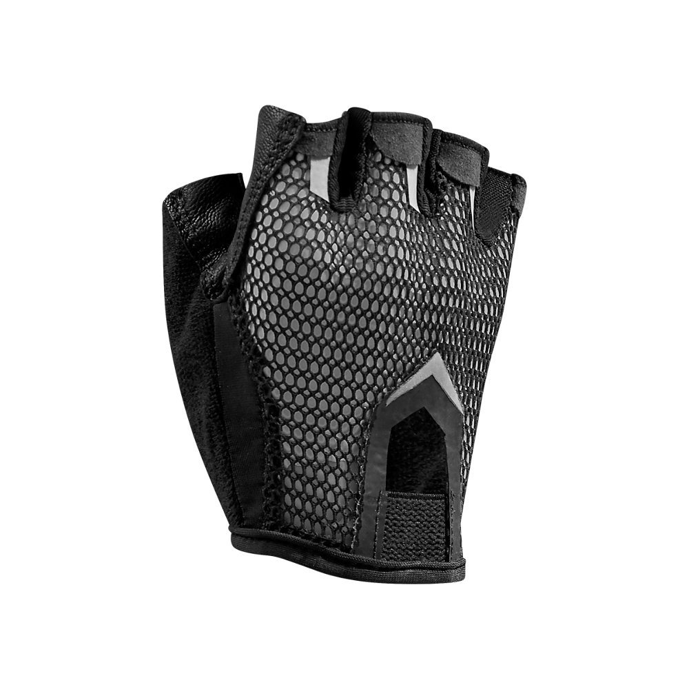 Under Armour Women's Resistor Training Gloves, Black /Metallic Pewter, Small