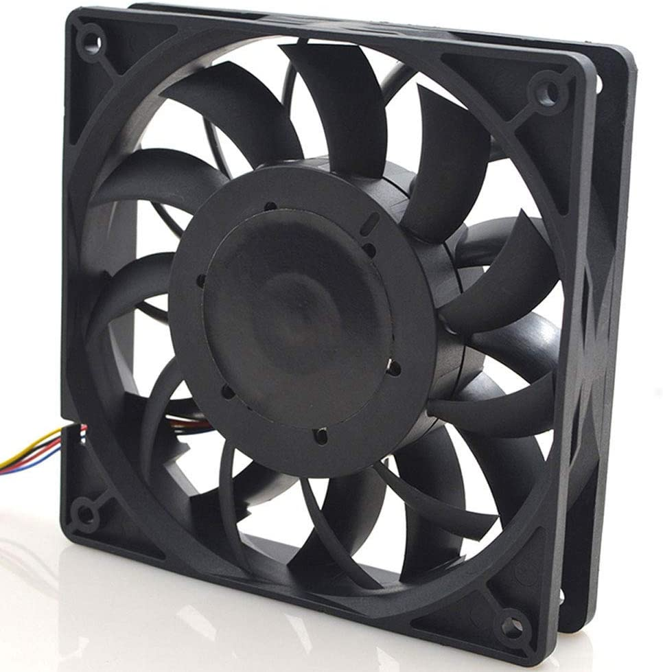 FFB1212SH 12cm 12025 120mm Fan DC12V 1.24A 4 Lines pwm high Speed Server Chassis Cooling Fan