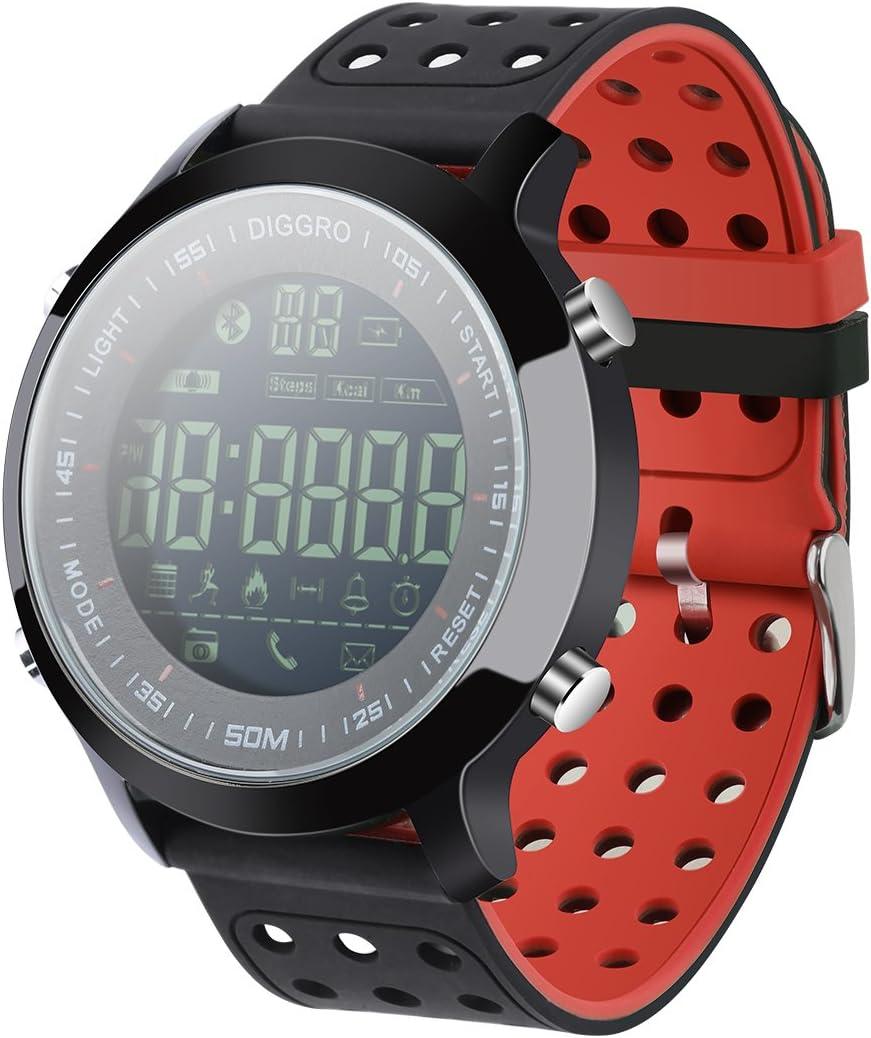 Diggro DI04 Reloj Inteligente IP68 Impermeable Smartwatch 5ATM ...