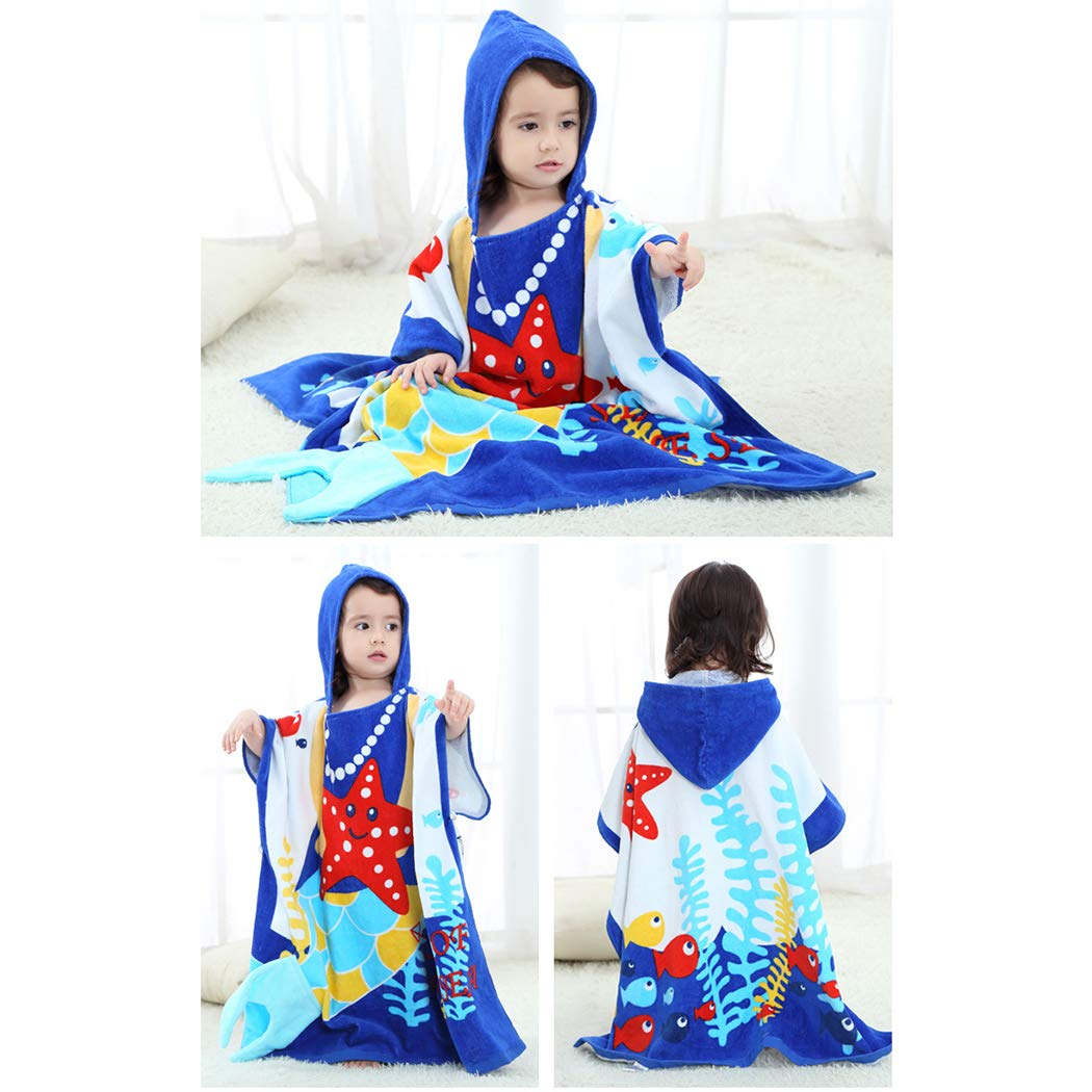Raylans Boys Girls Animal Cloak Cape Baby Towel Hooded Bathrobe 0-7 Year