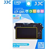 JJC LCP-GM5 LCD Guard Film Screen Protector for Panasonic Lumix DMC-GM5 Camera (Clear)