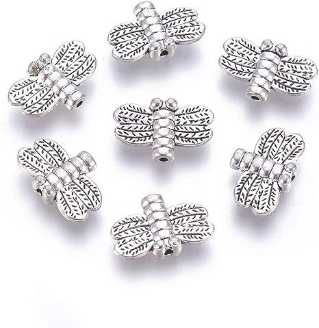 36pcs Mixed Animal Antique Silver Bead Fit European Charm Bracelet Findings