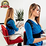 PREMIUM Posture Corrector for Women & Men, Back Support Brace For Pain Relief, Kyphosis, Shoulder Alignment Strap, Breathable And Comfortable Fabric, Elastic For Freedom Of Movement, With E-Book