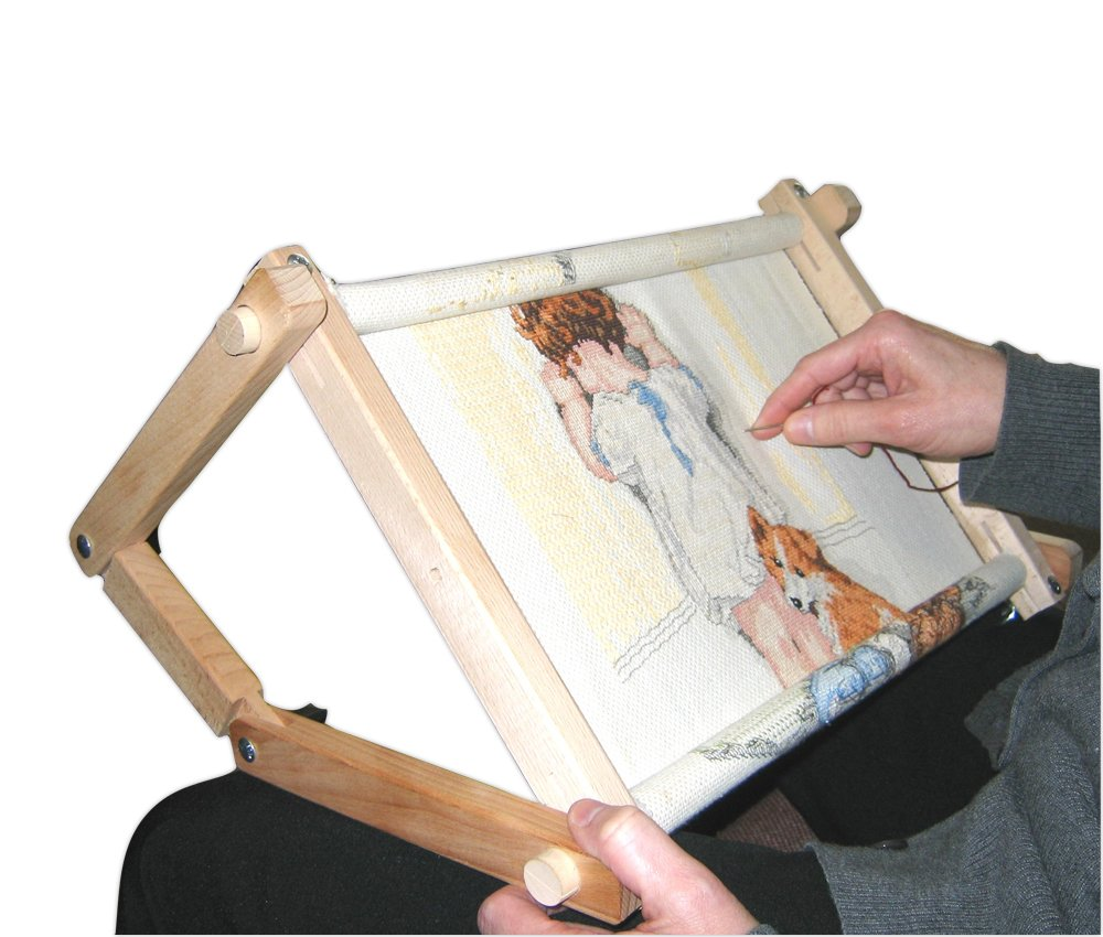 Fa Edmunds Flexible 9 Inches X 18 Inches Needlework Embroidery Adjustable Lap Or Table Stand 792-FAE-2930