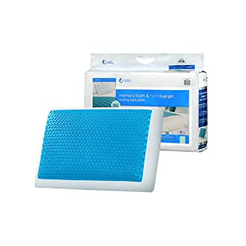 Amazon.com: Comfort Revolution Memory Foam and Hydraluxe Cooling ...