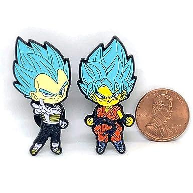 Amazon.com: Dragon Ball Super Vegeta Goku Super Saiyan Blue ...