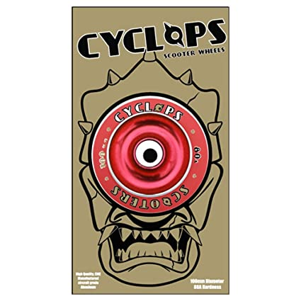 Amazon.com: Cyclops Scooters Rueda – 100 mm), color rojo ...