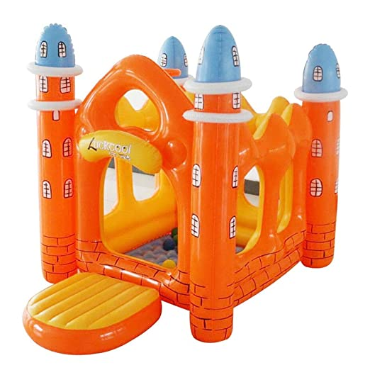 HEROTIGH Piscinas Hinchables Niños Inflables Castillo Happy ...