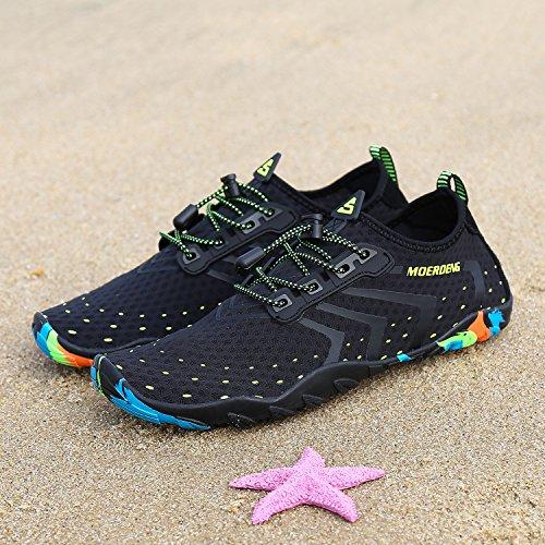 MOERDENG Men Women Water Shoes Quick Dry Barefoot Aqua Socks Swim Shoes for Pool Beach Walking Running by MOERDENG (Image #6)