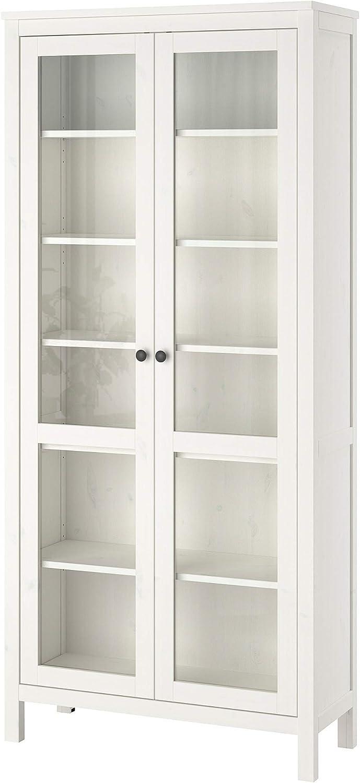IKEA.. 903.717.70 Hemnes - Armario de Cristal para Puerta, Color Blanco: Amazon.es: Juguetes y juegos