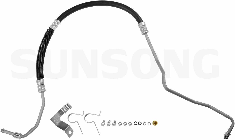 Sunsong 3402251 Power Steering Pressure Line Hose Assembly