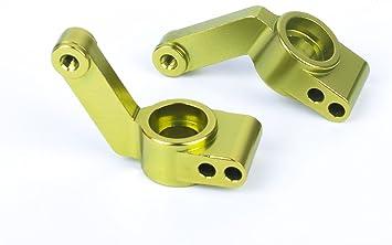 SummitLink Traxxas TRX 3752 - Soporte para Eje Trasero de aleación CNC, Color Verde