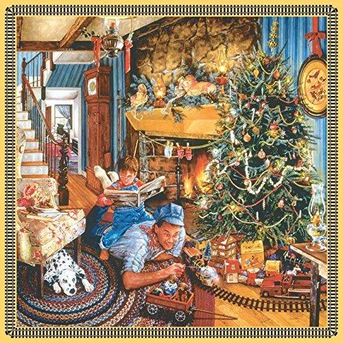Sunsout Fathers Christmas Train 500 Piece Jigsaw Puzzle by SunsOut