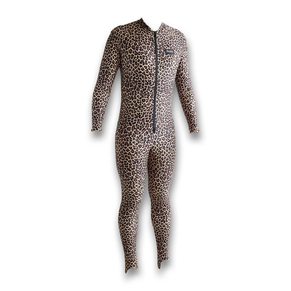 Image of Aeroskin Unisex-Adult Polyester Full Body Suit (Full Pattern) - Leopard Dive Skins
