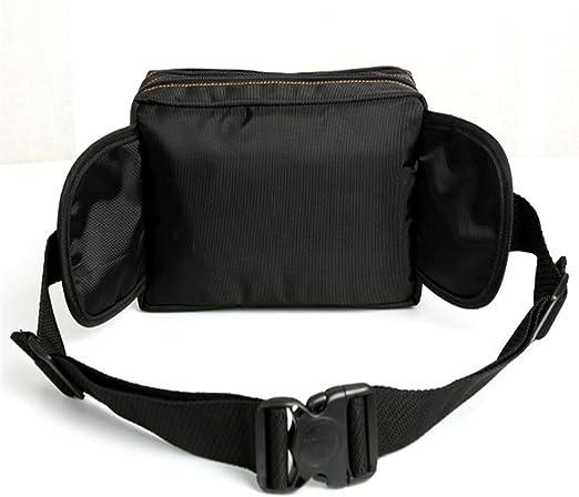PUSPAC Fanny Pack Black Waist Bag Viajes Senderismo Hip Bum Purse ...