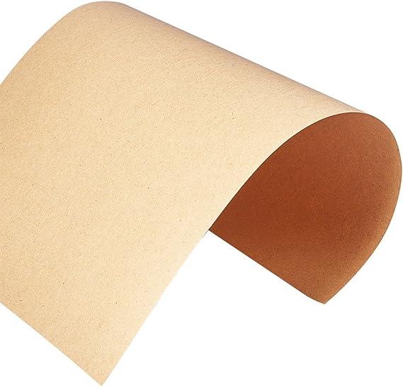 BENECREAT Carta Kraft marrone 100 fogli marrone naturale formato A4 Letter - 110 GSM 8,27 x 11,69