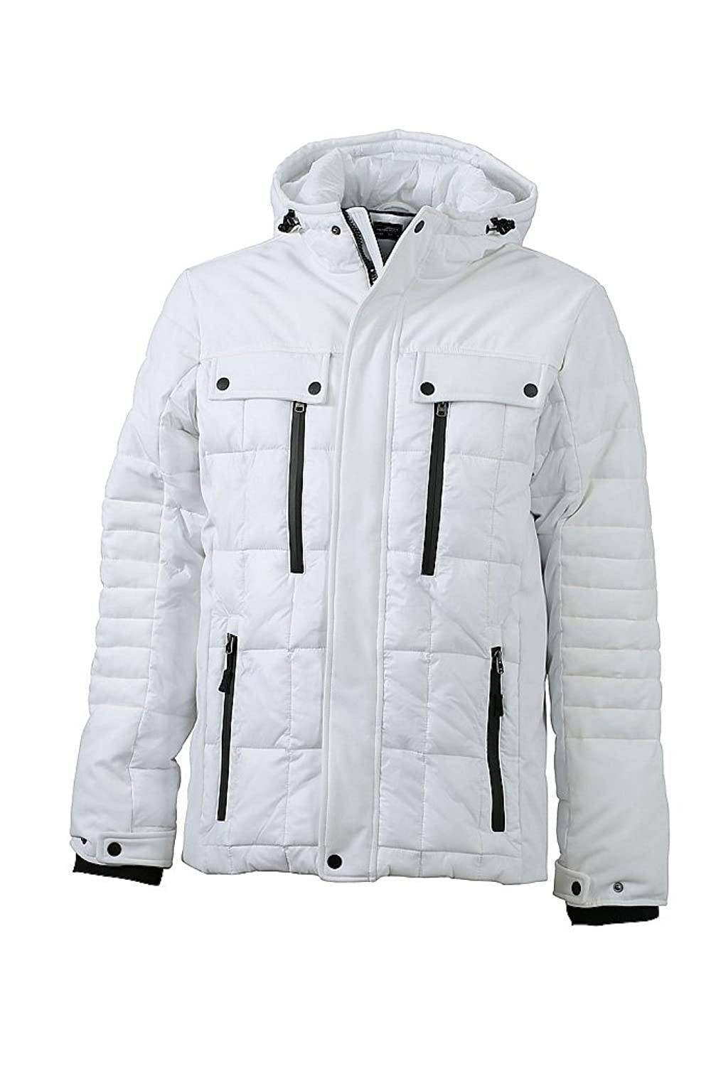 JAMES & NICHOLSON Stylish jacket in trendy mixed material