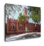 Ashley Canvas, Fort Christian In Charlotte Amalie St Thomas, Home Decoration Office, Ready to Hang, 20x25, AG6350956