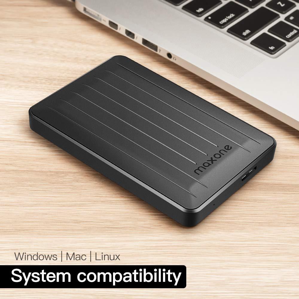 Maxone Disco Duro Externo portátil de 2,5