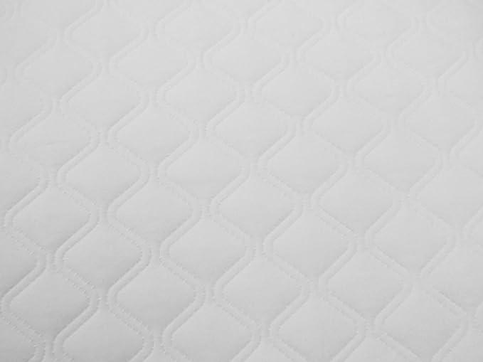 BABY best BUYS / KATIES PLAYPEN® - Colchón de microfibra hipoalergénico para moisés, 69 x 30 x 4 cm, forma ovalada: Amazon.es: Bebé