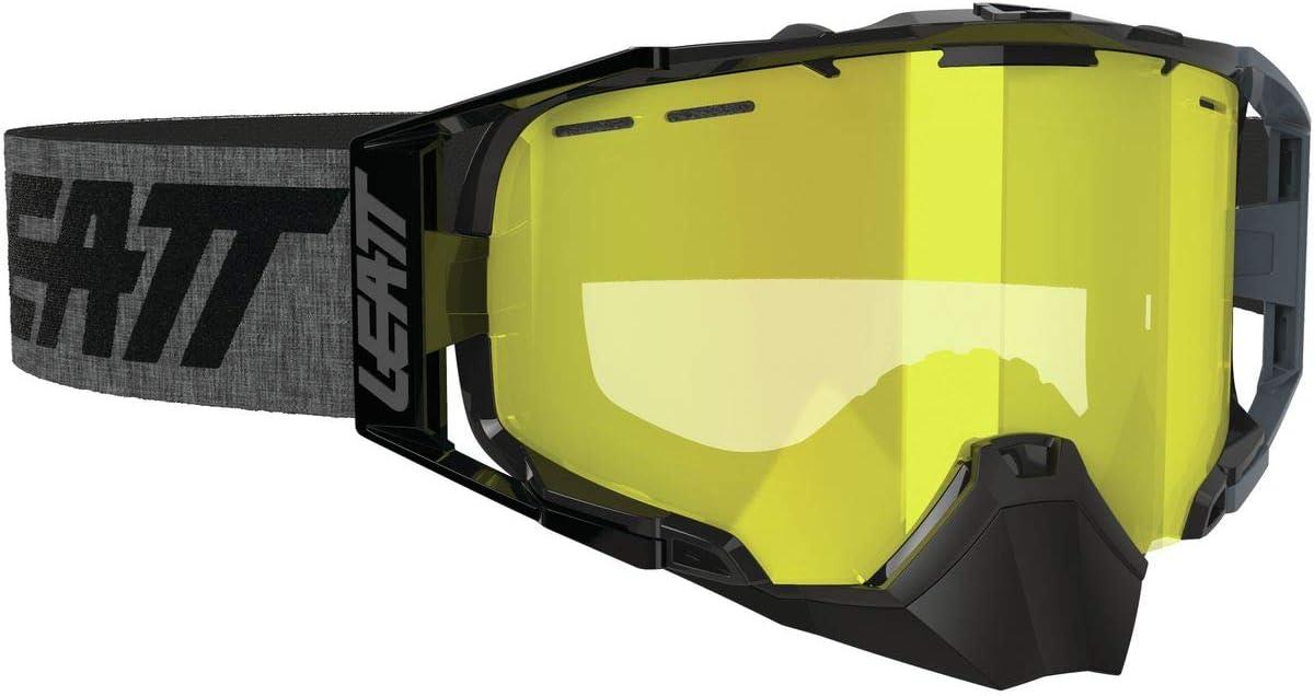 Leatt 6.5 Velocity SNX Goggles Black//Grey