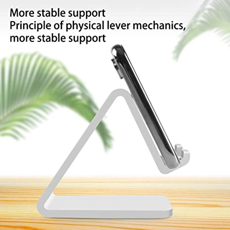 Universal Portable Mobile Phone Holder Plastic Bed Office Desk Table Stand for Tablet Stand Universal Desk Phone Holder for All Mobile Smart Phone,for Tablet Smartphone P-KLL Phone Holder