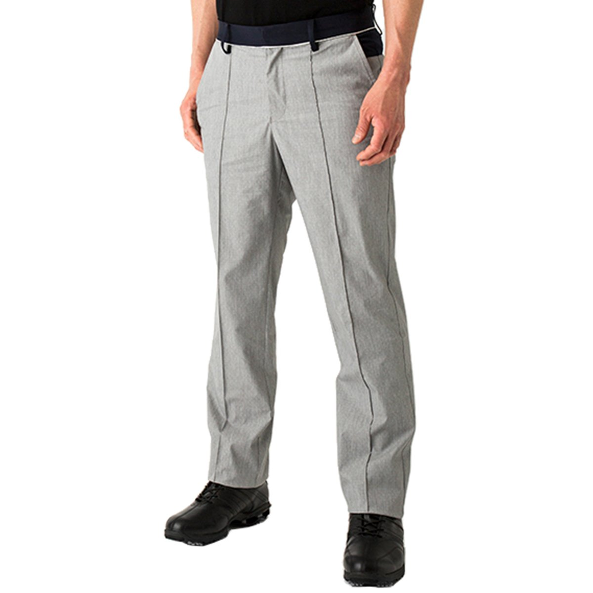 プロギア PRGR ロングパンツ パンツ B07CJGQ1WZ L|グレー グレー L