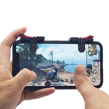 X5 Double Gaming Trigger Fire Button Aim Key Smart Phone Mobile Joysticks Game L1r1 Pubg Shooter Controller For Pubg Gamepad Gamepads
