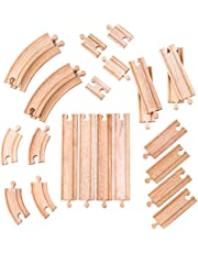 Bigjigs Rail Curves and Straights Expansion Pack - Other Major Rail Brands are Compatible